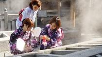 【湯村温泉/荒湯】高温の湯壺を使って温泉卵 湯たまご体験(徒歩圏)