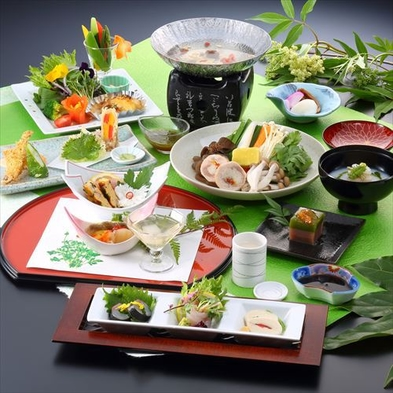 【お部屋から関東平野を一望!】最上階フロア1泊2食付きプラン★
