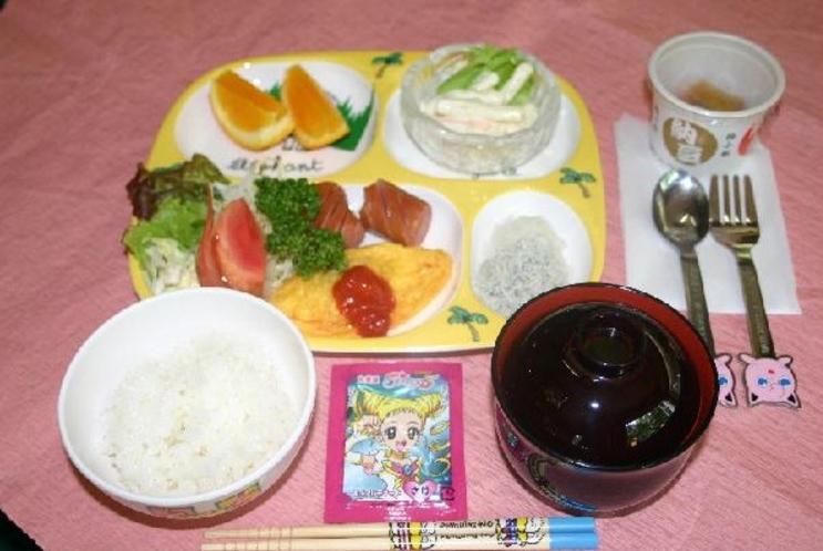 和風お子様ランチ(夕食)