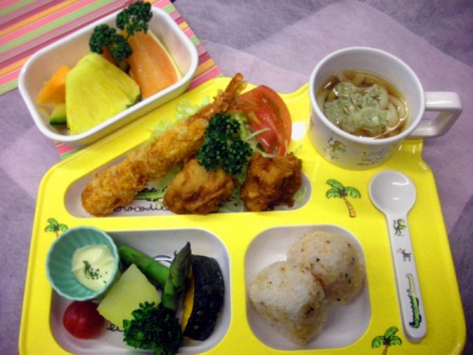 和風お子様ランチ(朝食)