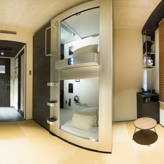 Room in Capsule Twin