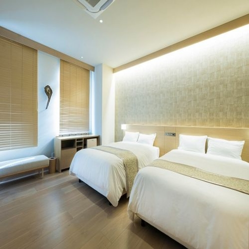 Room in Bath Twin(ベッド幅140cm×2台)1室1名様~2名様