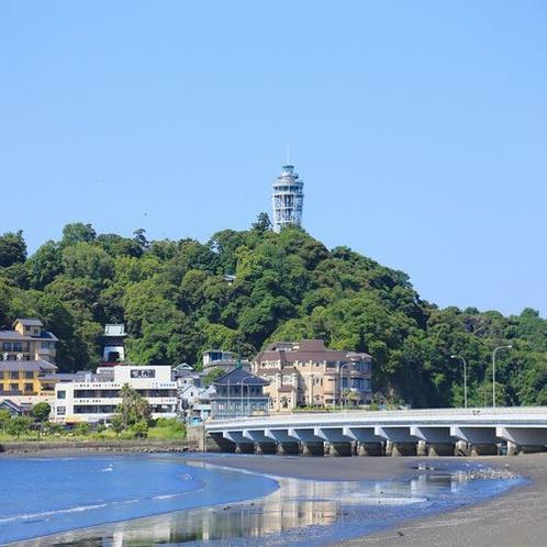 江ノ電を使えば江ノ島駅まで僅か10分