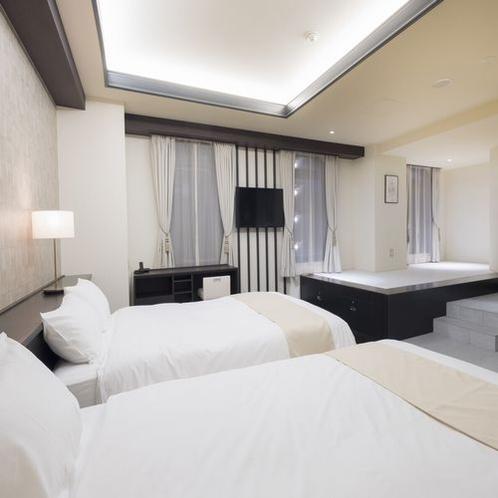 EN Suite with Spa space(ベッド幅140cm×2台)1室1名様~4名様