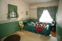 和洋室6畳 ピーターラビットのお部屋です!