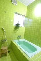 浴室(グリーン)
