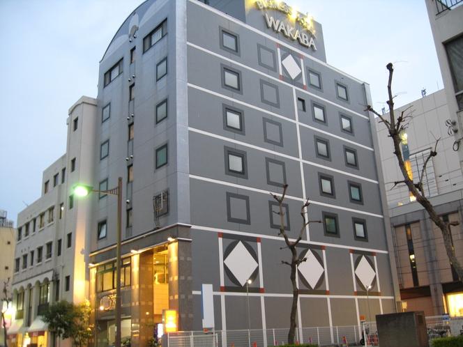 HOTEL WAKABA外観