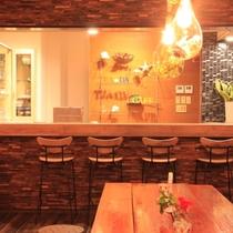 【Tea-da-cafe】バータイムは地元の方にも人気☆貸切パーティーご相談ください!