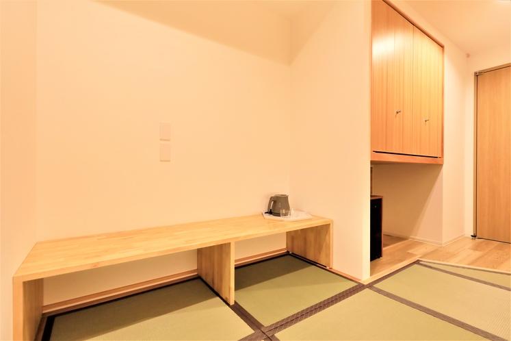 【新館和室】2021年6月に完成したばかり。和室は6歳以下添い寝のお子様は無料です。