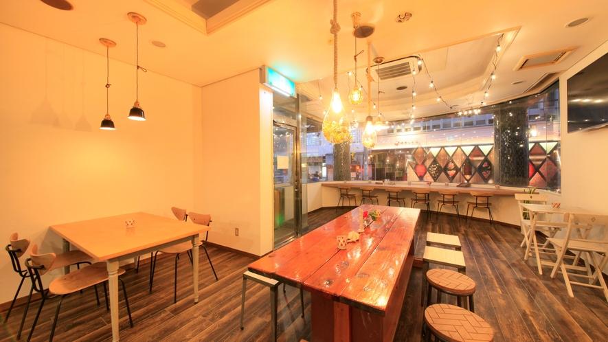 【Tea-da-cafe】ホテル1階。ご朝食をご用意いたします。