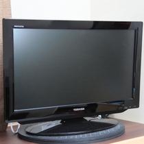 【客室備品】液晶テレビ