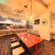 【Tea-da-cafe】ホテル1階。ランチとバータイムはご宿泊者様以外のご利用もOK