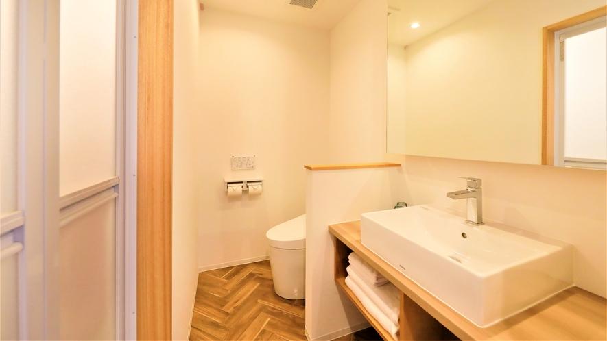【新館ツイン】使いやすさにこだわった洗面所。