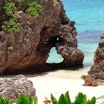 【周辺観光】池間島ハート岩/大人気のインスタSPOT♪