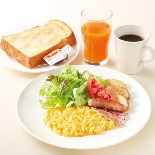 A洋風朝食