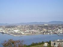 米子城山山頂より