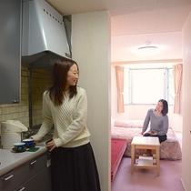 ツインタイプ客室例