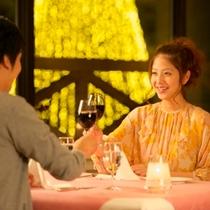 【食事(夕食)】笑顔こぼれるひと時を。近郊の新鮮食材を中心にカラダにもうれしいお食事をどうぞ。