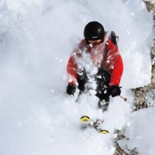 【ゲレンデ】ルスツの雪は極上パウダー!