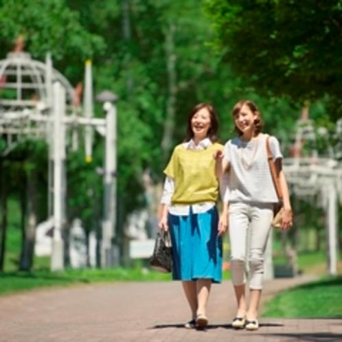 【リゾート散策】のんびりお散歩