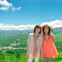【羊蹄パノラマテラス】おとなの女子旅。景色は360度パノラマが楽しめるのんびり旅にも最適♪