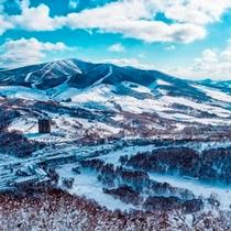 【全景】冬のルスツリゾート
