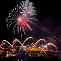 【イベント】日程限定★ルスツスペシャル花火大会!夜空を彩る鮮やかは花火!1200発は迫力満点