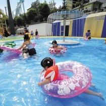 【夏休み限定】スーパージャンボプール★夏はやっぱりプールでしょ!6タイプの温水プールでパシャパシャッ