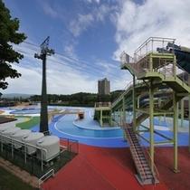 【夏休み限定】日本最大級★温水屋外スーパージャンボプール
