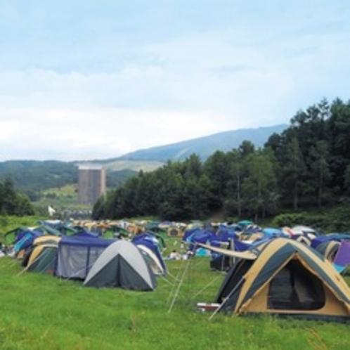 【夏休み限定】キャンプ村 ※お電話で承ります。
