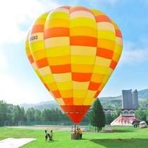 【アクティビティ】熱気球(係留)フライト体験★夏休み限定で楽しめるふわふわプカプカ♪空中散歩