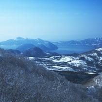 【ゲレンデ】天気が良ければ、スキー場から「洞爺湖」、果てには「太平洋」まで。