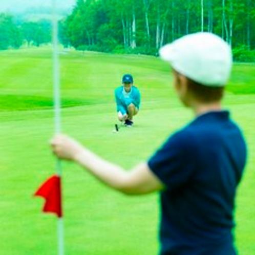 【ゴルフ場】ゴルフイメージ