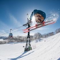 【ゲレンデ】全三山37コース!日本最大級規模のルスツリゾートスキー場!