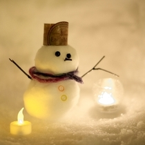 【雪遊び】あなただけの雪だるまを作ってみるのも旅の思い出にいかがですか♪