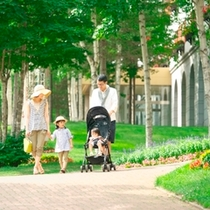 【リゾート散策】家族でお散歩♪