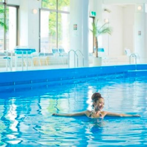 【館内施設】室内造波プールでリラックスリゾート♪宿泊者利用無料。