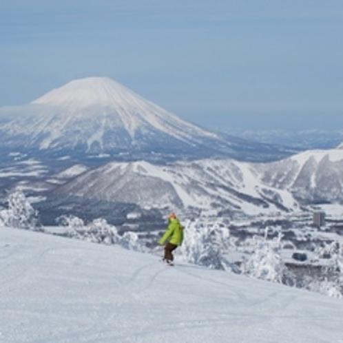 【ゲレンデ】絶景クルージング。羊蹄山を眺めながら、気分も爽やかにLET'S GO!