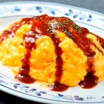 【料理/昼食】とろとろたまごのオムライス