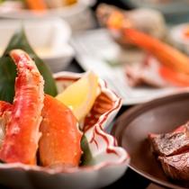 【食事(夕食)】≪こだわりの北海道素材≫海・山ともに近い立地、ルスツの美味しいをお届け。
