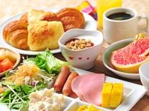 【朝食バイキング】和洋メニュー例