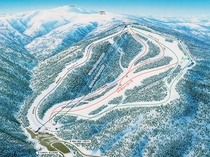 【札幌国際スキー場】コースマップ