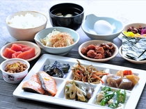 【朝食バイキング】和食メニュー例