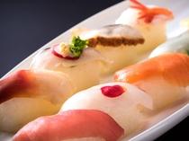 【夕食バイキング】手作りの握り寿司