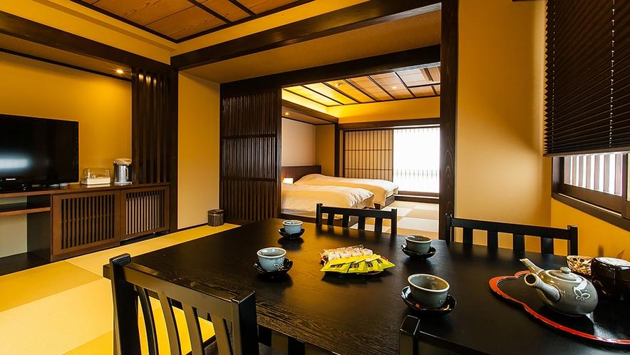 高知城を望む露天風呂付きスイート