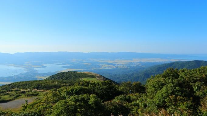 【登山】大自然に囲まれた佐渡と日本海の幸を大満喫◆創作海鮮料理と特製おにぎり弁当付♪