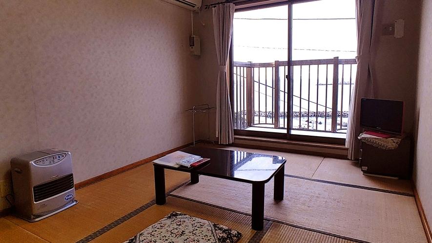 和室6畳_海を眺めながらのんびりと