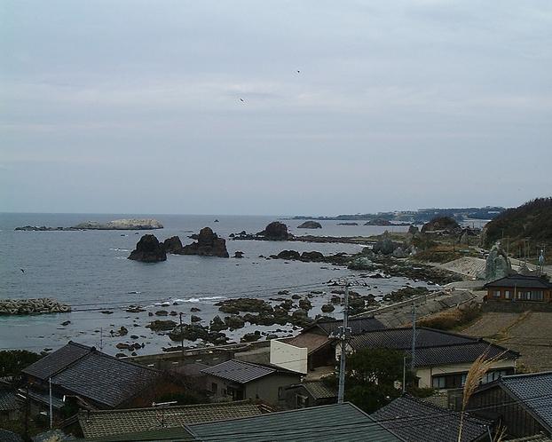 七浦荘風景