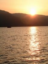 夕刻の船旅