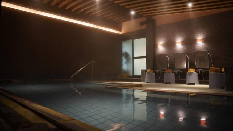 *大浴場/温泉に浸かって日頃の疲れを癒してください。